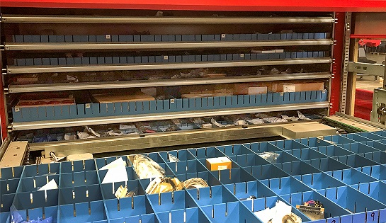 Kardex drawers