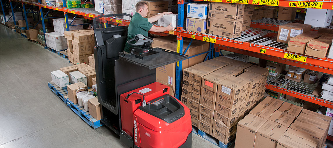 Pallet Truck Orderpicking, Low Level Picking, Forklift Order picking