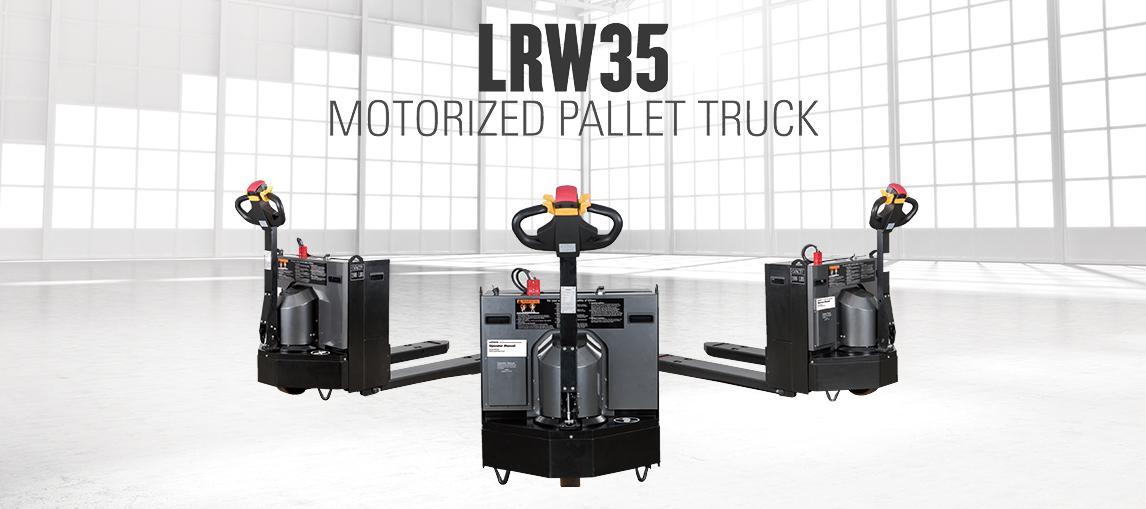 LRW35 Motorized Pallet Truck
