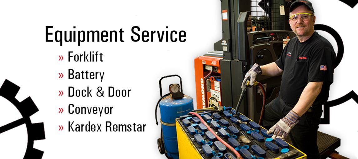Service, Battery, Dock & Door