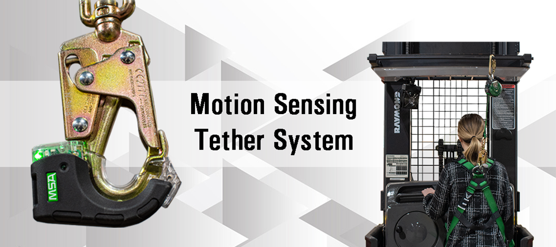 Tether, Warehouse Products, Motion Sense