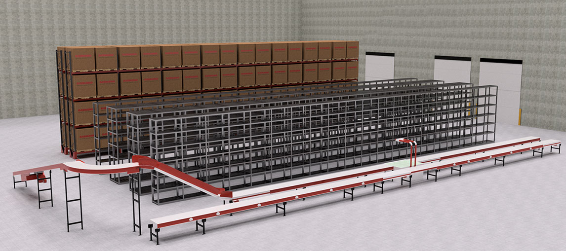 Warehouse Layout, Systems Integration, Warehouse redesign