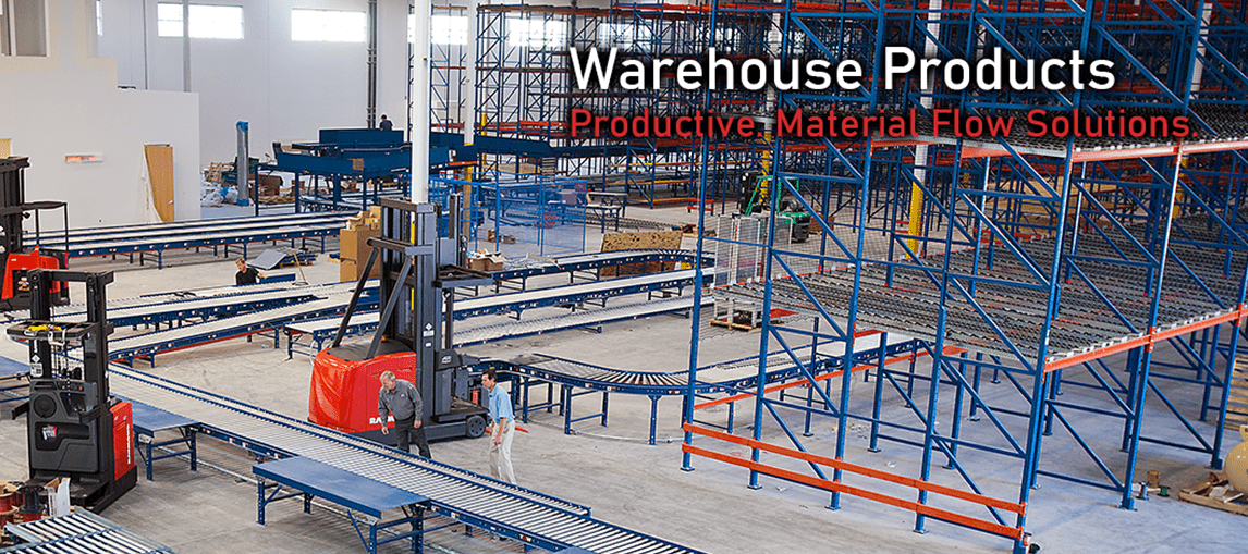 Warehouse Products, Warehouse Equipment, New Warehouse