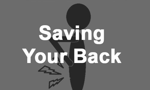 Saving Your Back