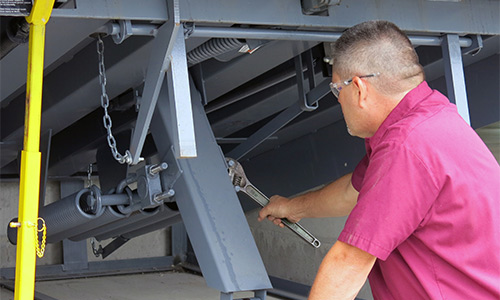 Dock Leveler Maintenance, Loading Dock Service