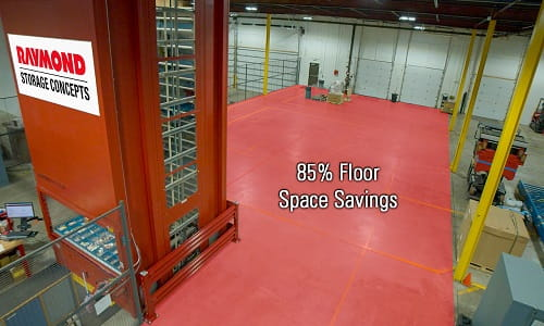 Kardex Floor Savings