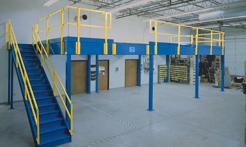Warehouse Mezzanine, Mezzanine. Mezzanines