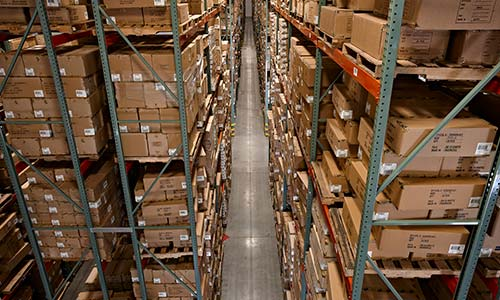 Narrow Aisle Racking, Louisville Warehouse Rack, Warehouse Layout