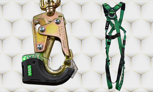Safety Harness, Tether, RFID
