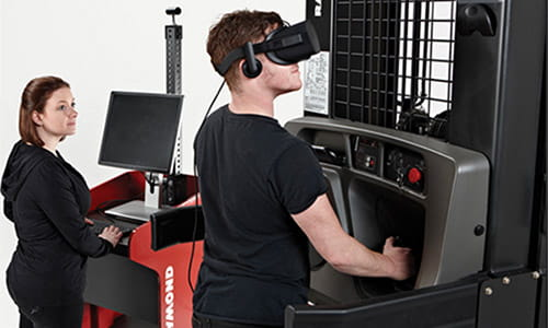 Virtual Reality Training, Operator Training, Forklift Training