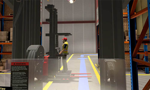 Forklift Training Virtual Reality