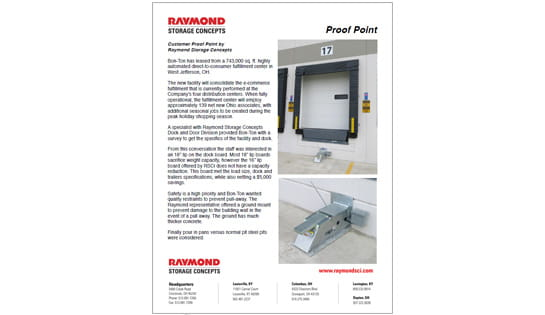 Vehicle Restraint, Dock Equipment