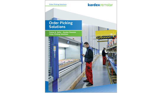 AS/RS, Automated Storage, Order Picking