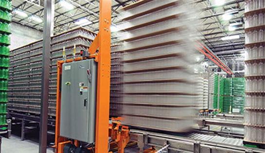 Full Pallet Conveyor, Systems Integration