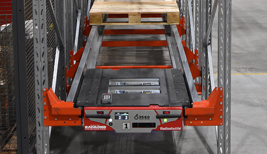 Radioshuttle, Racking Robot, Automated Racking