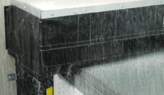 Dock Rain Shield