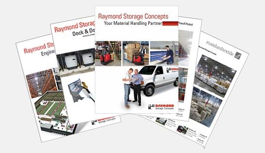 Raymond Storage Concepts Literature