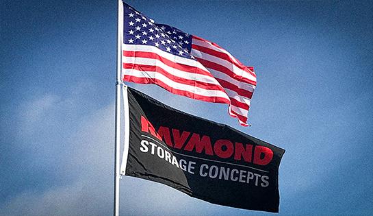 Raymond Storage Concepts Flag