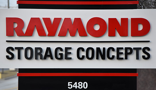 Raymond Storage Concepts, Material Handling Companies, Forklift Dealer