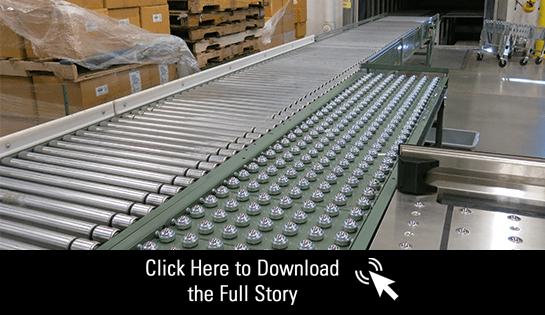 Conveyor, Systems Integration, Warehouse Production