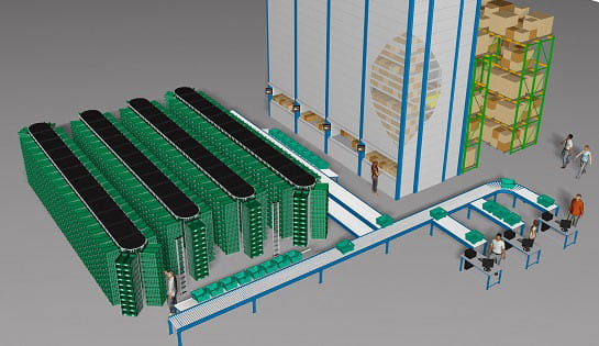 Vertical Product Storage