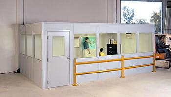 Warehouse mezzanine modular office Losangeleseventplanning Modular Office Modular Offices Warehouse Offices
