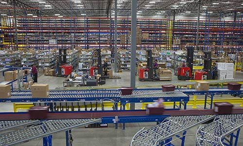 Raymond warehouse design and layout services