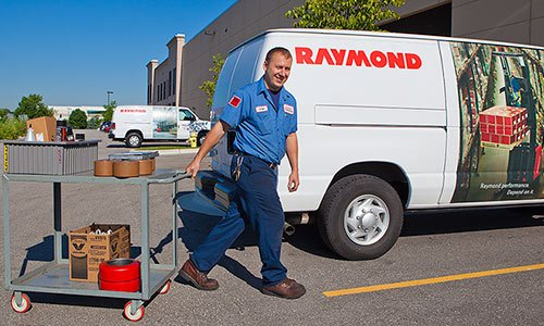Forklift Service Technician, Raymond Forklift Parts