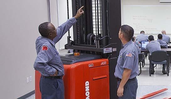 Raymond Forklift Training, Technician Training